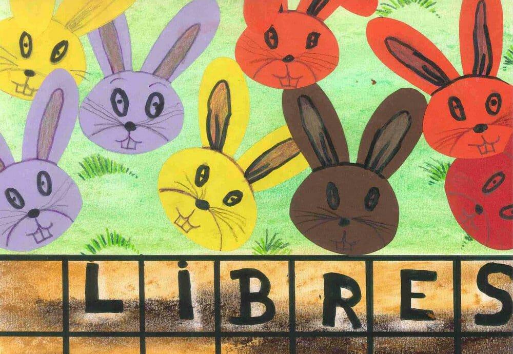 Le CIWF a une idée de génie: «des dessins d'enfants pour sauver les lapins»