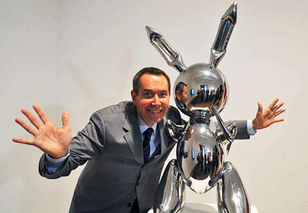 Un lapin, une oeuvre, un artiste... Jeff Koons
