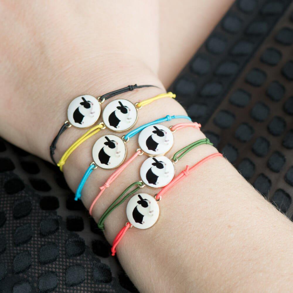 Le bracelet Carlos jaune fluo