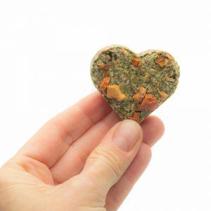 Les coeurs aux légumes et aux herbes