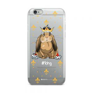 Coque iPhone King pour Telephone Noir ou gris 5 SE, 6, 7 8, 6 plus, 7 plus, 8 plus