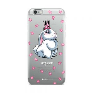 Coque iPhone Queen pour Telephone Noir ou gris 5 SE, 6, 7 8, 6 plus, 7 plus, 8 plus