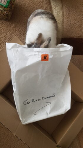 Foin bio de Normandie sac papier photo review